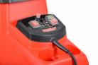 Elektrický drtič větví HECHT 6285 XL Silent - ovládací panel