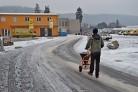 Rozmetadlo soli a umělých hnojiv DAKR KRH 02 Mont Blanc