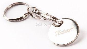 Přívěsek na klíče se žetonem ZETOR Fido