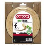 Žací struna kruhová 1,6mm x 15m OREGON Biotrim 559045