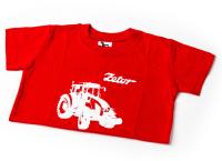 Dětské červené tričko ZETOR - 10 let