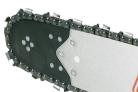 Benzínová řetězová pila ECHO CS-501SX - profil kované lišty a řetězu