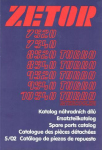 Katalog ND ZETOR Z 7540-10540 UŘ III