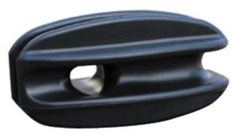 Vypínací izolátor rohový černý