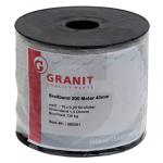 Páska široká bílá 10 mm klubko 250 m GRANIT