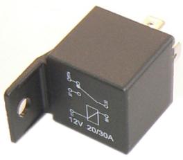 Relé přepínací 12V/20-30A (JRL+FRT) ZETOR 53.350.937