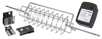 Otočný grilovací koš s motorem OUTDOORCHEF