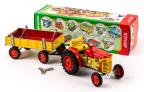 Model traktoru ZETOR 25 s valníkem