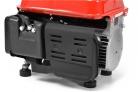 Jednofázová elektrocentrála HECHT GG 950 DC - kryt výfuku a motoru
