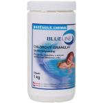 Granulát chlorový rychlorozpustný 1 kg BLUE LINE 501601