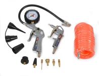 Hadice s pistolí a manometrem ke kompresoru HECHT 002026