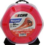 Žací struna 2,0mm x 65m ECHO Round