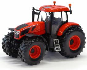 Model traktoru ZETOR Crystal 160 - plastový