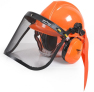 Ochranná helma se sluchátky a štítem HECHT 900100