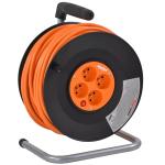 Prodlužovací kabel na cívce 50 m HECHT 450153