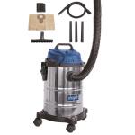 Průmyslový vysavač SCHEPPACH ASP 15 ES na suché/mokré vysávání 15 l