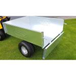Sklápěcí vozík k zahradnímu traktoru VARES TR220S pozink
