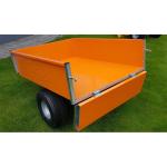 Sklápěcí vozík k zahradnímu traktoru VARES TR220S pozink plus