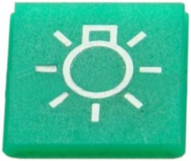 Symbol tlumených a obrysových světel (JRL+FRT) ZETOR 53.359.964