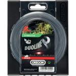 Žací struna kruhová 2,4mm x 15m OREGON Duoline 295367E